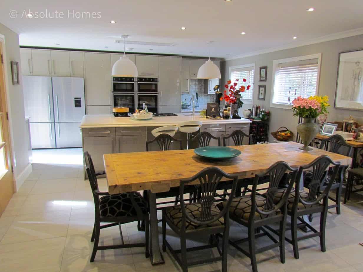 Hamilton Close, Teddington, TW11 9LA, kitchen diner