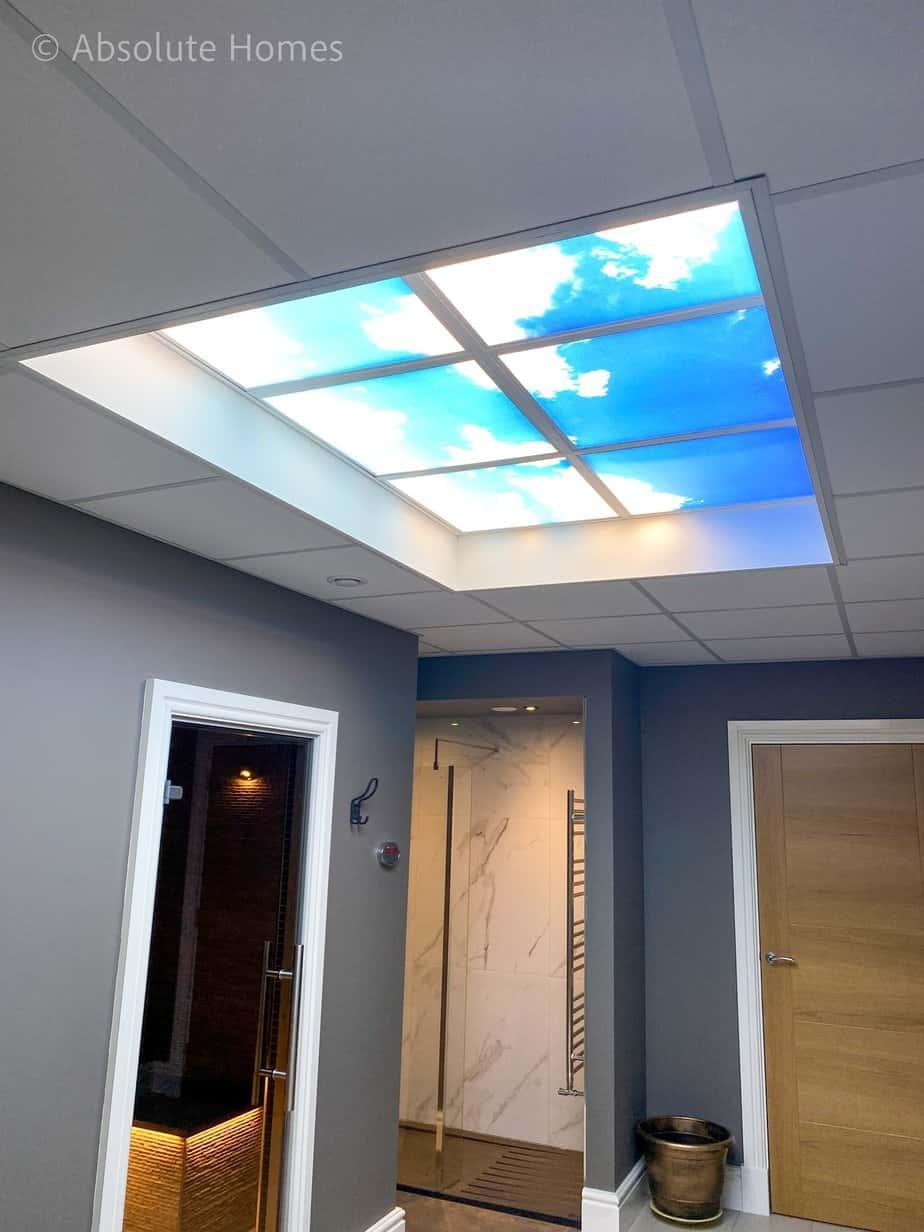 Hamilton Close, Teddington, TW11 9LA, ceiling leisure suite