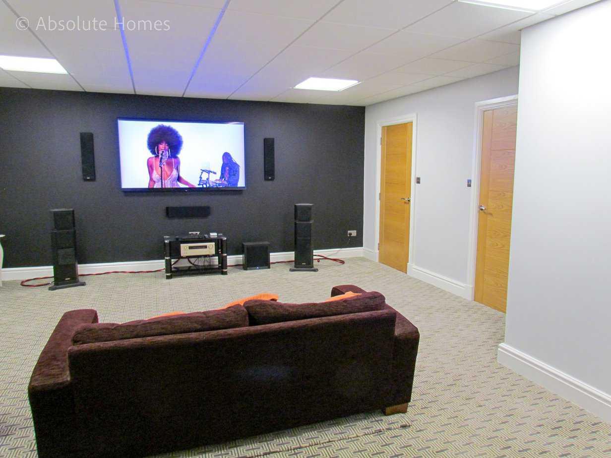 Hamilton Close, Teddington, TW11 9LA, cinema room